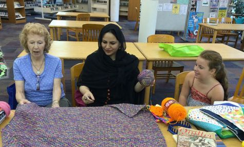 Craft Circle members share tips at Sulzer Library