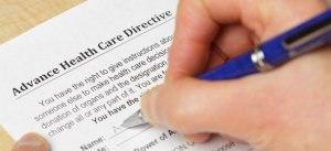 advanced health care directive
