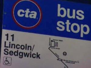 CTA #11 bus stop
