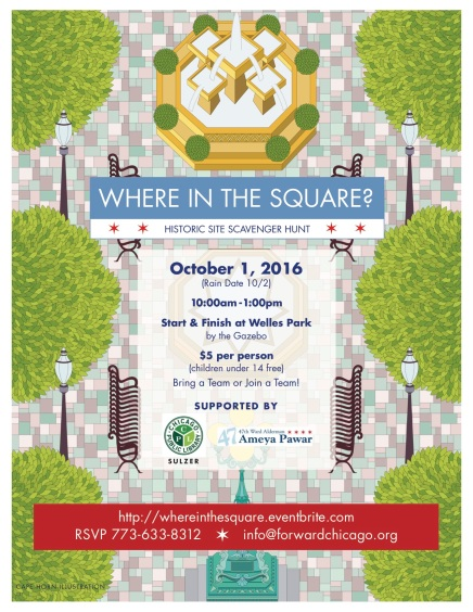 Where in the Square? Our Historic Scavenger Hunt! Oct 1st 10am