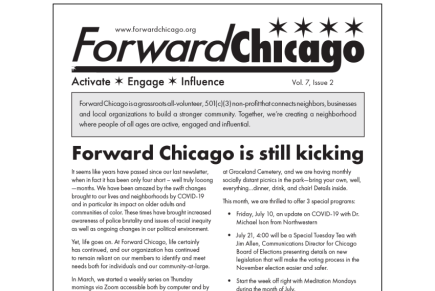 Forward Chicago Summer / Fall 2020 Newsletter
